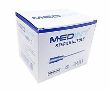 Medint Needles 200/Box Hypodermic Needle All Sizes Variety