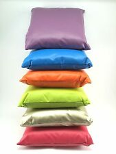 Multicolor Soft Faux Leather Cushion Covers Throw Pillow Case