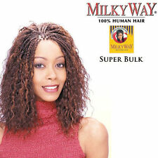 "Shake N Go Milky Way 100% Human Super Bulk 18"" Braiding Hair Wet &Wavy Extension"