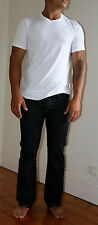 6 Pack of  Men's White T-Shirts 100% combed cotton S, M, & L crew neck tee shirt