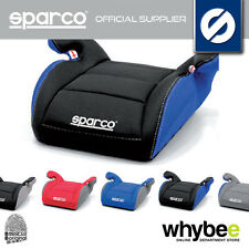 NEW! SPARCO F100 K CHILDREN'S BABY BOOSTER CAR SEAT AGE 4 to 12yrs GROUP 2 + 3