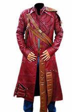 STAR Lord Guardiani della Galassia MEN'S LEATHER TRENCH