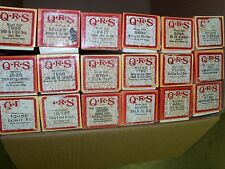 Player Piano Roll QRS Release Me King of the Road Blackbird music rolls