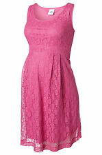 Cia Lace Special Occasion Maternity Dress Baby Shower Pink New  Sizes 8-16