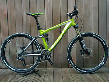 "GHOST AMR 6559 650b 27,5"" Mountainbike MTB Fully VERDE GREEN TG. 48"