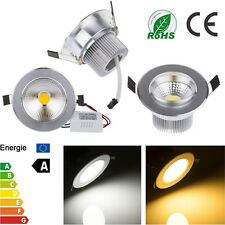 3W/5W/7W/9W Dimmable COB LED Ceiling Recessed Down Light Lamp Warm/Cool White