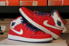 2007 Nike Air Jordan I Retro 1 LS SPORT RED WHITE ROYAL BLUE BLACK (315794-611)