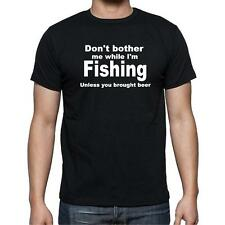 T-shirt funny fishing with beer