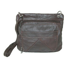 New CTM Womens Leather Purse Handbag with Adjustable Strap