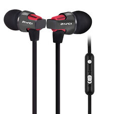 Original Awei ES860hi Super Bass In-ear Earphone with Mic Volume Control