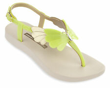 Ipanema Gisele Bundchen Sunset Flip Flops / Sandals - Beige/Yellow