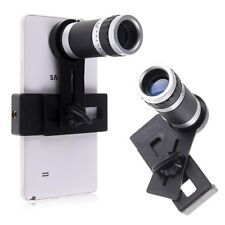 Universal 8X Zoom Optical Camera Lens Telescope + Mount Holder for Various Phone