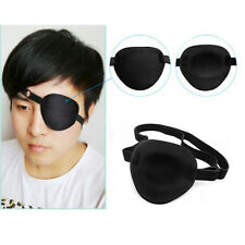 Medical Use Concave Eye Patch Foam Groove Adjustable Strap Single Eyeshades A/C