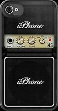 """""""GUITAR MUSIC AMPLIFIER"""" iPHONE 6 5 5S 5C 4 4S plus REAR COVER CASE Personalised"""