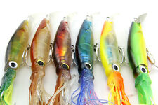 New Big Size Fishing Lures 13.9cm/39.9g Fishing Tackle Squid Lures Fishing Bait