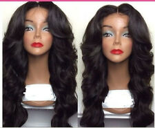 Glueless Malaysian Lace Front /Full lace wigs 100  human Remy Hair  wave