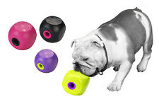 BUSTER CUBE FOR DOGS AND CATS AIDS SEPERATION ANXIETY TREAT FOOD DISPENSER TOY
