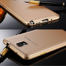 For Samsung Galaxy Luxury Ultra-thin Aluminum Metal Bumper PC Back Case Cover