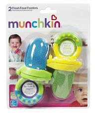 Munchkin 2 Pack Fresh Food Feeder, Choose your Colors