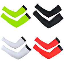 Sun Protection Cuff Cover Racing Arm Sleeves Bike Bicycle Cycling Arm Warmers