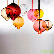 Colorful Crystal glass Bump Pendant Light Chandelier Ceiling Lamp Lighting
