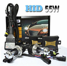 55W HID XENON CONVERSION KIT Headlight Lampe H1 H3 H7 H8 H4 H9 H11 H13 9006 9005