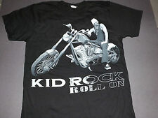 KID ROCK Roll On Motorcycle T-Shirt *NEW music band concert tour