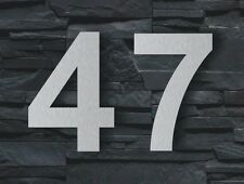 House Number Arial 20cm Stainless Steel new high quality Signs