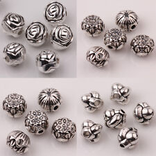 Wholesale 10/20Pcs Tibet Silver Loose Spacer Beads Charm Pendants Jewelry Making