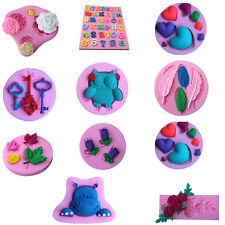 Neu Mode 3D Cake Decor Fondant Kuchen Form Silikon Ausstecher Ausstechform Tools