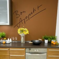 BON APPETIT Spanish Buen provecho kitchen food chef dining wall stickers quote