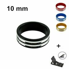 Aluminum Al MTB Mountain Bike Bicycle Cycling Toothed Headset Stem Spacer 10mm