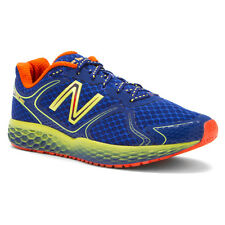 New Balance M980BY FRESH FOAM Mens Blue Mesh Lace Up Athletic Running Shoes