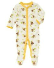 NWT Gymboree BRAND NEW BABY Yellow Koala Print Knit Sleeper Pajamas