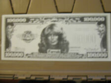 FARRAH FAWCETT PAPER MONEY AND NIXON HUSH MONEY