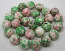 Beautiful 3,4,6,8,10,12,14,16,18,20mm Multi-color Jasper Round Loose Beads 15""