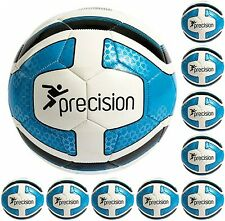10 x Precision Santos Top Quality Training Ball Red Blue Yellow Size 3 4 5