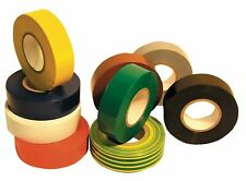 ELECTRICAL PVC INSULATION / INSULATING TAPE 19mm x 20m FLAME RETARDANT -Fast P+P