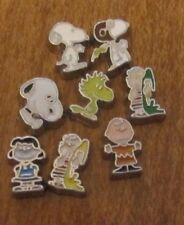 PEANUTS CHARLIE SNOOPY LINUS WOODSTOCK RED BARON LUCY FLYING ACE FLOATING CHARMS
