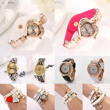 New Stylish Women analog leather Classic round dial Marvellous wristwatches