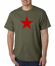 Red Star China Russia CCCP USSR Military Army T shirt T-Shirt S-5XL