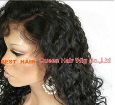 Glueless Malaysian Lace Front  / Full wigs 100% human Remy Hair curly  curly