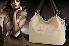 Ancient Inclined Cowhide women lady Mix Leather handbag shoulder bag Tote