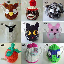 9 Kinds of New Hand Crocheted Knited Tea Cosy 4-6 Cup