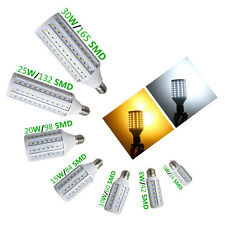 New EPISTAR E14 SMD 5630 LED Corn Bulb Pure Warm/Cool White Light 110V 240V