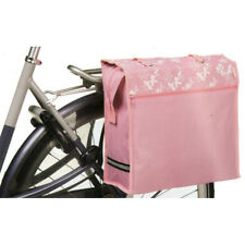NEW BICYCLE PANNIER SHOPPER BAG FIXES ONTO BIKE FLORAL PATTERN 3 COLOURS