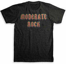 Moderate Rock T Shirt - American Apparel Tri-Blend Vintage Fashion - Graphic Tee