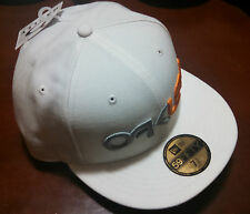 Oakley Factory New Era 59Fifty Fitted White Hat Cap 91306-100