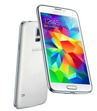 New Samsung Galaxy S5 SM-G900A - 16GB(Unlocked) - Shimmery White,Black (AT&T)