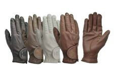 Hy5 Leather Horse Riding Gloves
